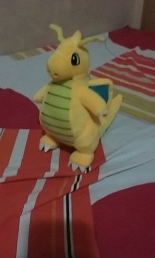 Pelúcia Dragonite 20 cm - Pokeshop