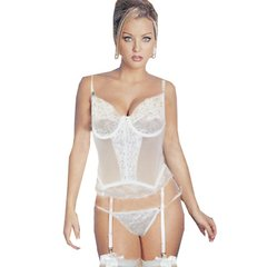 Corselet com Calcinha e Cinta Liga - Erotic Point