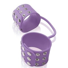 Algema Lilás - Silicone Cuffs Purple - Pipedream