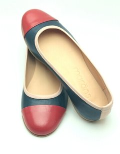 Ballerina Praga Blue/Red