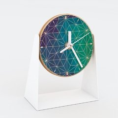 "RELOJ MESA- Wood in time ""Cosmic Star Ocean"""