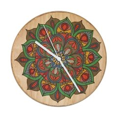 "RELOJ- Wood in time ""Mandala Naturaleza"""