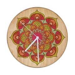 "RELOJ- Wood in time ""Mandala Dinamismo"""