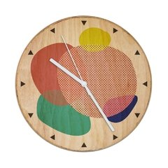 "RELOJ- Wood in time ""Color Bubble"" - comprar online"