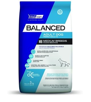 Vital Can Balanced Adult Dog Medium Breed