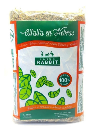Alfalfa en Hebras  Land´s Rabbit