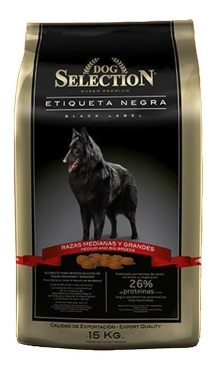 Dog Selection Etiqueta Negra Adulto