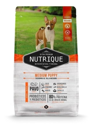 Nutrique Medium Puppy Dog