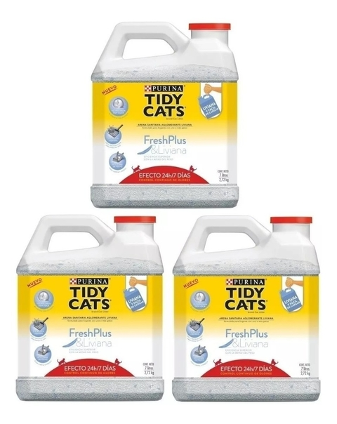 Piedras Sanitarias Fresh Plus Tidy Cats