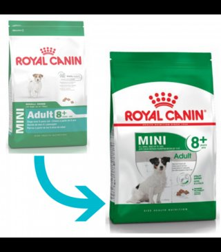 Royal Canin MINI Adulto +8 (Senior)