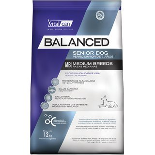 VitalCan Balanced Adult  Senior Medium