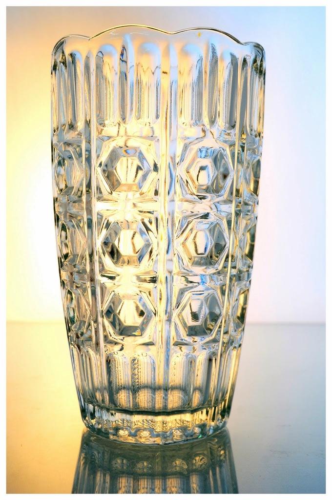 floreros antiguos jarrones centros de mesa de cristal