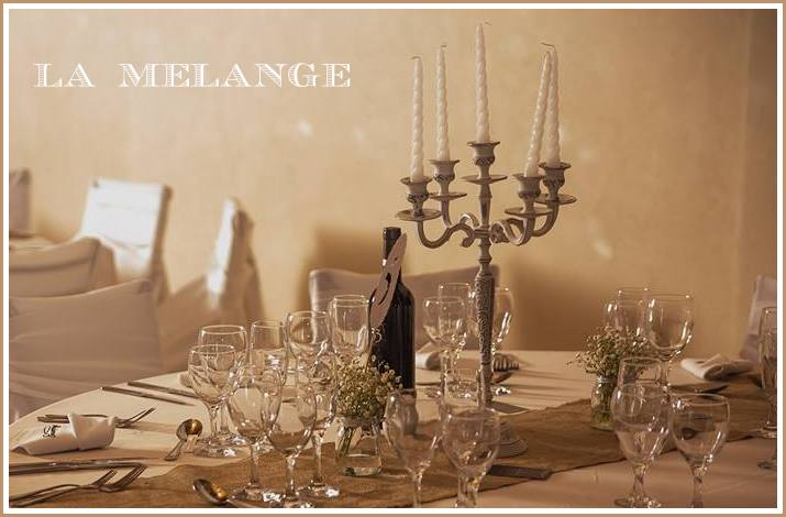 alquiler candelabros shabby chic