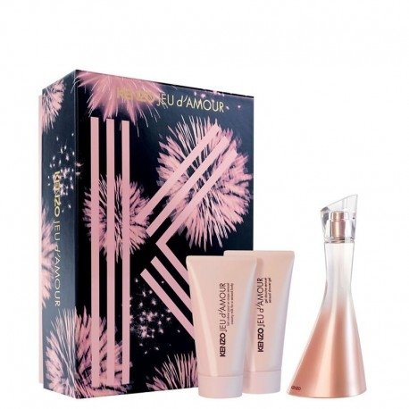 Kenzo Jeu D'Amour Edp 50 ml + Shower Gel + Body Lotion - Eau de Parfum