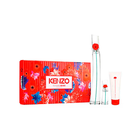 Flower By Kenzo EDP 100 ml + EDP 15 ml + Body Milk 7,5 ml - Eau de Parfum