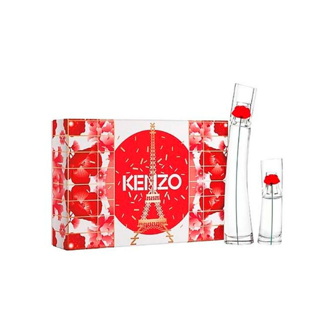 Flower By Kenzo EDP 100 ml + EDP 15 ml + Body Lotion 75 ml - Eau de Parfum