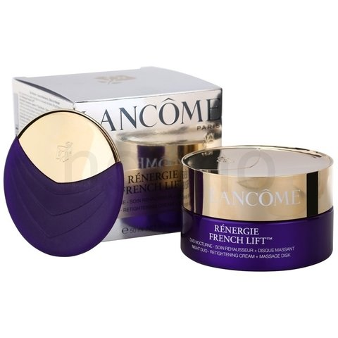 Rénergie French Lift Duo Nocturne- Soin Rehausseur+Disque Massant - Cream