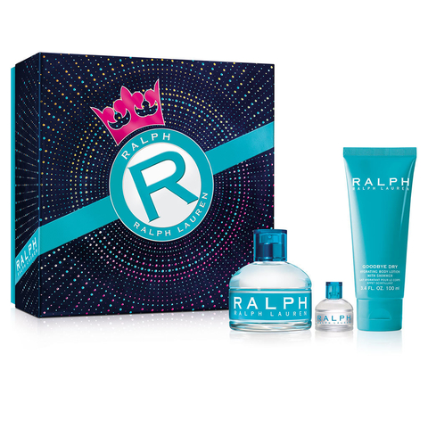Ralph Edt 100 ml + Edt 7 ml + Body Lotion 100 ml - Eau de Toilette