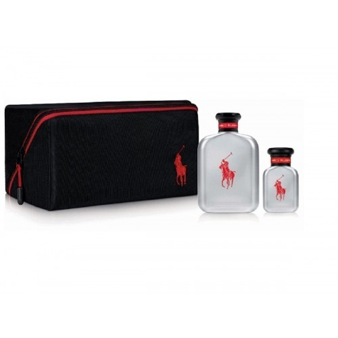 Polo Red Rush EDT 125 ml + EDT 40 ml + Pouch - Eau de Toilette