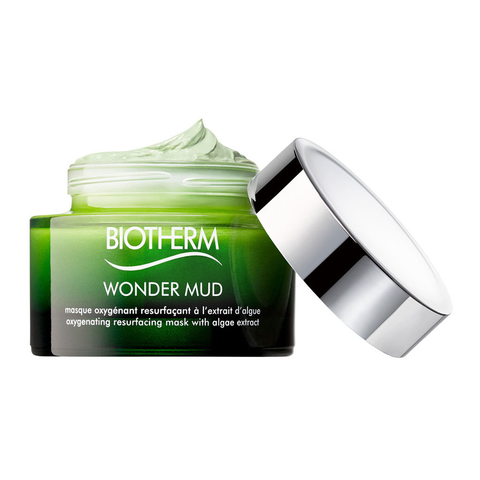 Wonder Mud Skin Best. Masque Oxygenant Resurfacant á L´extrait D´algue - Minimise les Pores & Ravive L´eclat - Tous Types de Peau - Cream