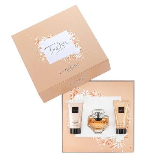 Tresor Edp 50 ml + Body Lotion + shower Gel - Eau de Parfum