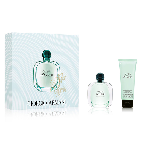 Acqua Di Gioia EDP 30 ml + Body Lotion 75 ml - Eau de Parfum