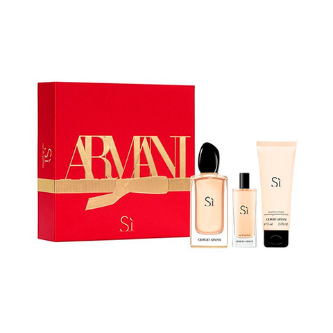 Si Armani EDP 100 ml + EDP 15 ml + Body Lotion 75 ml - Eau de Parufum