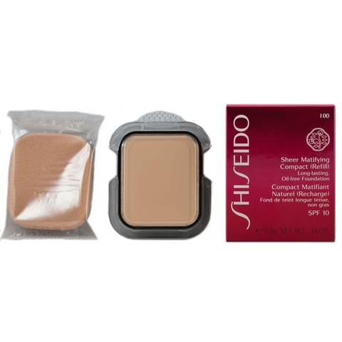 Shiseido Sheer Matifying Compact (Refill) Long Lasting Oil Free Fundation I 00 - Compacto