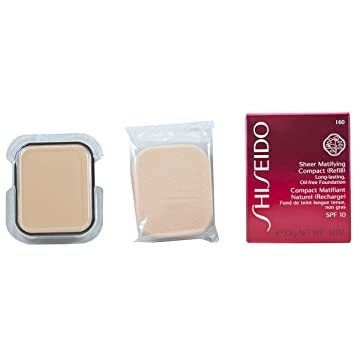Shiseido Sheer Matifying Compact (Refill) Long Lasting Oil Free Fundation I 60 - Compacto