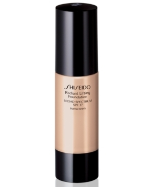 Shiseido Radiant Lifting Foundation Firming and Anti Wrinkle SPF 17 Natural Fair Beige B 40 - Fluido