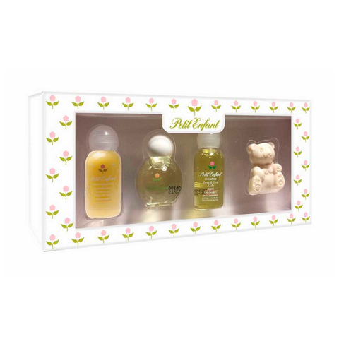Petit Enfant Estuche Miniatura Cololina 35 ml + Kids Creama De Enguaje350ml + Colonia + Shampoo 35 ml + Jabon Animalito 58 gr - Set miniaturas