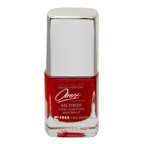 Esmaltes Gel Finish 897 Rojo Metalizado - Liquido