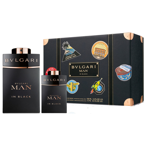 Bvlgari Man In Black EDP 100 ml + EDP 15 ml - Eau de Parfum