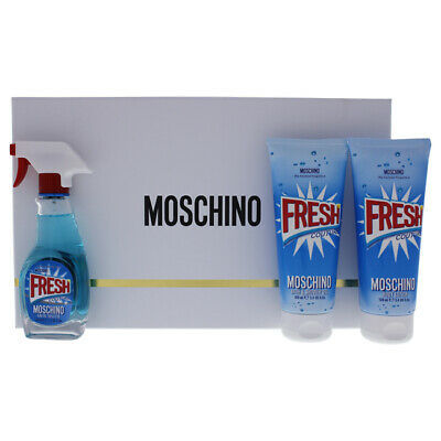 Moschino Fresh EDT 50 ml + Shower Gel 100 ml + Body Lotion 100 ml - Eau de Toilette