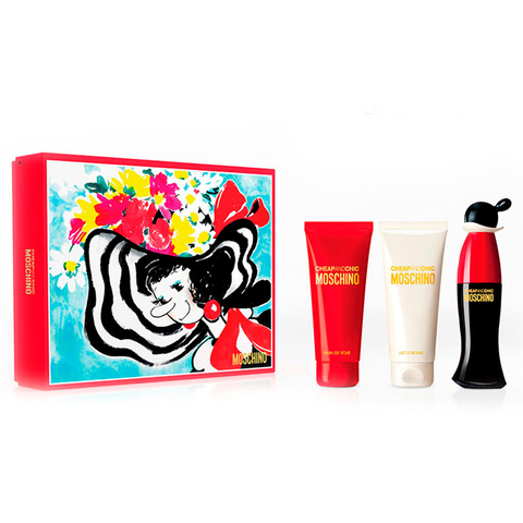 Moschino Cheap & Chic EDT 50ml + shower Gel 100 ml + Body Lotion 100ml - Eau de Toilette
