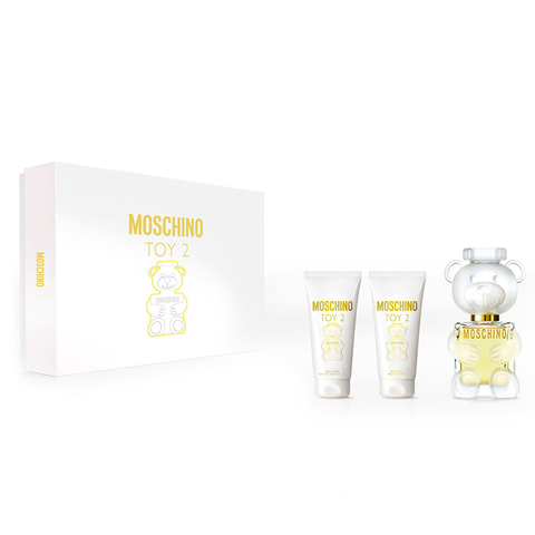 Moschino Toy 2 EDP 50 ml + Shower Gel 50 ml+ Body Lotion 50 ml - Eau de Parfum