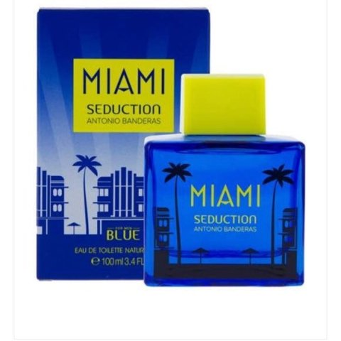 Blue Seduction Miami Men - Eau de toilette