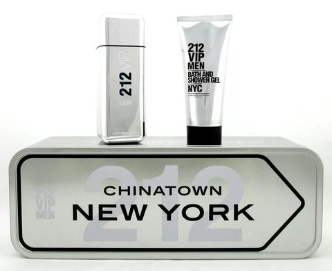 212 Vip Men Edt 100 ml + Shower gel 100 ml - Eau de toilette
