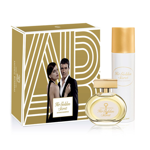 Her Golden Secret EDT 80 ml + Deo 150 ml - Eau de Toilette