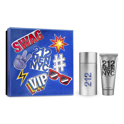 212 Men Edt 100 ml + After Shave 100 ml - Eau de toilette