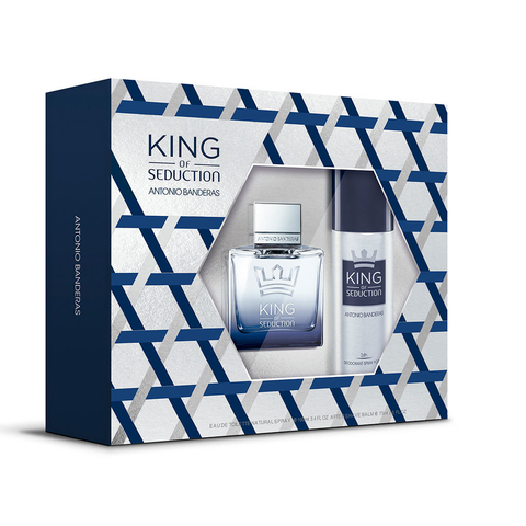 King of Seduction EDT 100 ml + deo 150 ml - Eau de Toilette