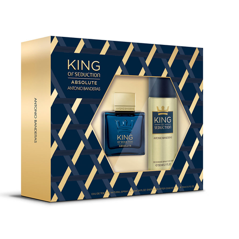 King Of Seduction Edt 100 + Deo 150 ml - Eau de toilette