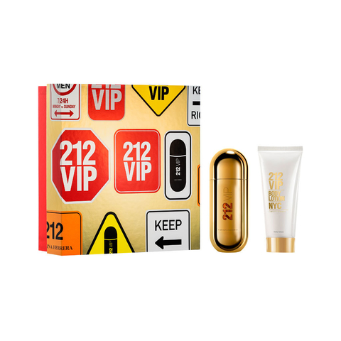 212 Vip EDP 50 ml + Body lotion 100 ml - Eau de Parfum