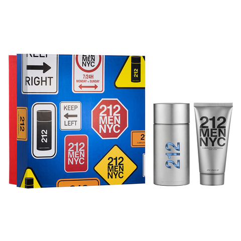 212 Men EDT 100 ml + After Shave Gel 100 ml - Eau de Toilette