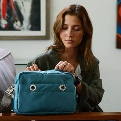 CROSS BODY LAURA AZUL BONDI en internet