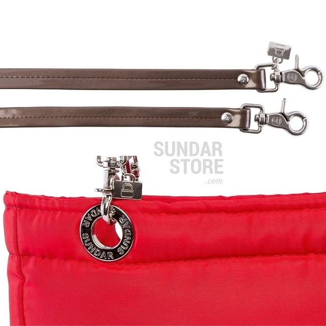 RED SUNDAR, TOP ZIPPER, SHOULDER BAG