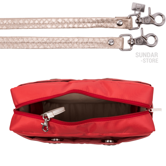 Image of CORAL-MARSALA SUNDAR CROSS BODY MEDIUM