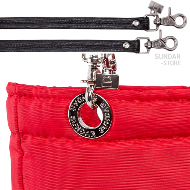 RED SUNDAR, TOP ZIPPER, SHOULDER BAG - online store