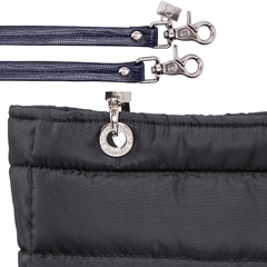 BLACK SMALL SUNDAR ZIPPER BAG - online store