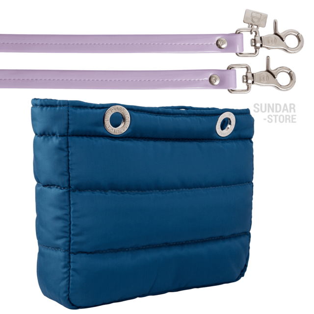 COBALT BLUE SUNDAR, TOP ZIPPER, SHOULDER BAG - online store